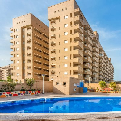 Piscina Apartamentos Oromarina Jardines del Mar