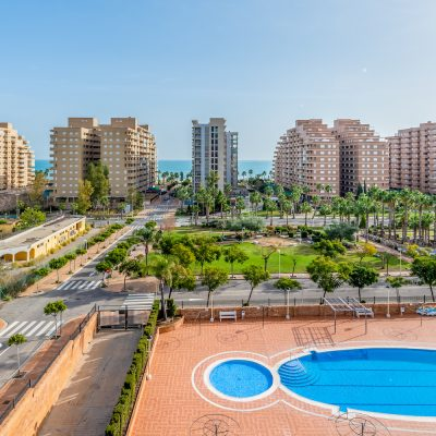 Piscina Apartamentos Oromarina Torremar